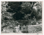 Wading Pool and Rock Garden at Germantown Dam Park photograph
