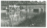 1937 Ohio River flood in Stuebenville photograph