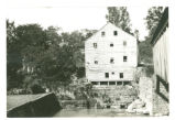 Beaver's Mill and old covered bridge photograph