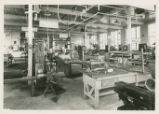 United States Industrial Reformatory machine shop photograph