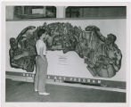 Working Cartoon mural by Leroy Flint