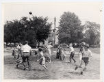 "Children playing ""Spud"""