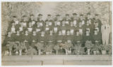 Graduating class at Strasburg, Ohio