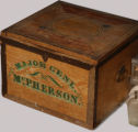 James B. McPherson Wooden Campaign Chest