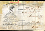 Jay Cooke Letter and Receipt