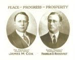 James M. Cox and Franklin D. Roosevelt Campaign Photograph