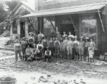 Kimnach's General Store Following the 1913 Flood Photograph