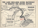 Lake Erie-Ohio River Interconnecting Waterway Proposed Maps