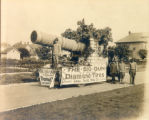 Lake Shore Tire Company World War I Float Photograph