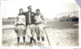 Baseball Players at Idora Park Photograph