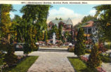 Shakespeare Garden Postcard