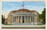 Sandusky Post Office Postcard