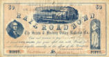 Scioto and Hocking County Valley Railroad Bond