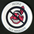United Church of Christ People Not Mascots Button