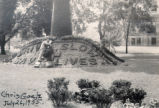 Washington Park Floral Mound Maintenance Photograph