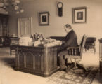 William McKinley in the Oval Office Photograph