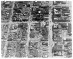 Xenia after tornado aerial photograph
