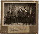 Group of World War One Enlistees photograph