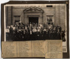 Large Group of World War One Enlistees photograph