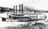 Boone and Telephone Steamboats Photograph