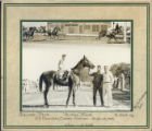 Billies Mark Racehorse at Beulah Park Photograph