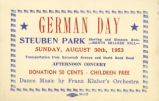 Cincinnati German Day Ticket
