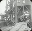 Coal Dumping in Conneaut, Ohio Lantern Slide