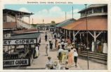 Coney Island Boardwalk Postcard