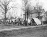 Dayton Militia During the 1913 Flood Photographs