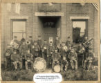 Dalton 11th Regiment Band Photograph