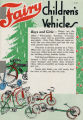 Fairy Children's Vehicles Holiday Advertisement