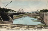 Fernbank Dam Under Construction Postcards
