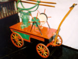 Hand-Powered Fire Pumper