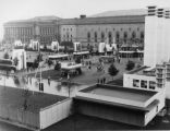 Hanna Fountain Mall During Great Lakes Exposition Photograph