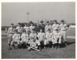 Armco Triangles Baseball Team Photograph