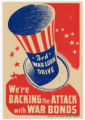'We're Backing the Attacks' poster