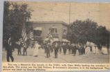 Memorial Day Parade 1920s Wadsworth News Clipping